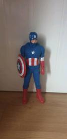 Large Captain America Toy Figure