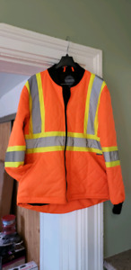 Forcefield cold weather safety jacket men's medium