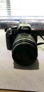 Canon EOS REBEL T3i with lens 18-135mm &more