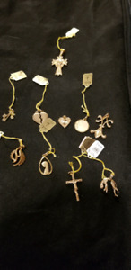 PENDENTS, EARINGS,RINGS,GOLD FILLED JEWELRY .