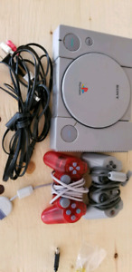 Modded Ps1 with tons of games