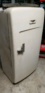 Antique refrigerator