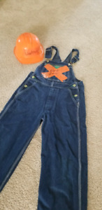 boys construction costume homemade