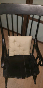 Rustic wooden Rocking chair