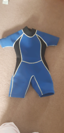 Childs wet swimming suit