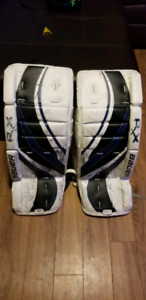 Kids Bauer goalie gear