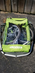 Croozer kid for two bike attachment