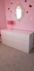 IKEA white dresser for sale!