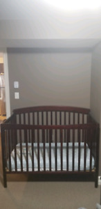 Crib, mattress, crib set and sheet