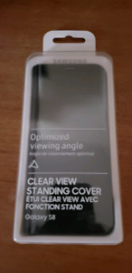 Samsung Clear View case for Galaxy S8