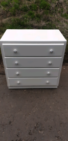 Vintage Chest of Drawers for Upcycle
