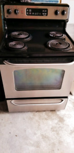Stainless steel stove really good condition