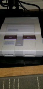 Super Nintendo and games $250 for the lot, or per price (BO)