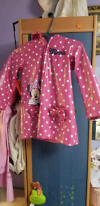 Kids Disney rain coat/jacket.(Disney Mini mouse)