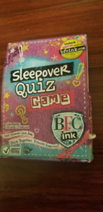 Best Sleepover Quiz Game and Travel Games