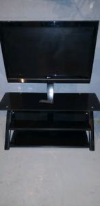 """TV stand with 37"""" LG LCD TV"""