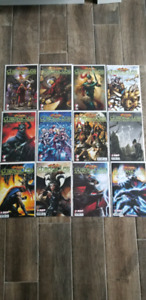 Comic book complete series. Serie complete bd.