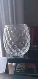 Large heavy vase