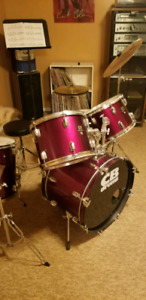 CB Drum Set with learning materials included