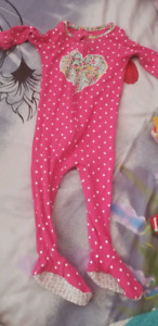 Baby girl  sleepwear from carter -12 months