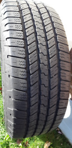 1-275/55R/20 GOODYEAR WRANGLER SRA ALL SEASON WITH 11/32ND TREAD