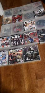 Collection of 19 ps3 games.