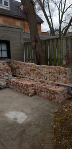 Reclaimed Bricks - John Price Style - Mostly Red and Yellow