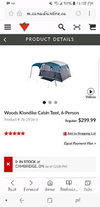 Brand New in Box 6 Person Tent