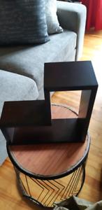 tablette en bois décorative  $ 20.00
