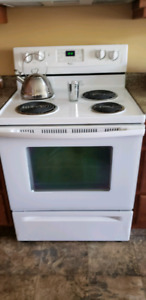 Stove and Over The Stove Microwave