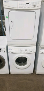 MAYTAG STACKABLE APARTMENT SIZE WASHER AND DRYER
