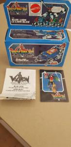 MATTEL Voltron Blue Lion 1984