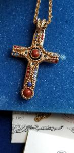 Camrose & Kross JBK Jacqueline Kennedy jewellery cross