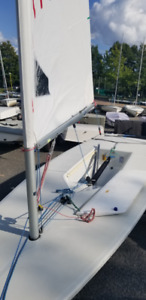 2002 Laser Sailboat, Radial and Full Rig. Perfect for racing.
