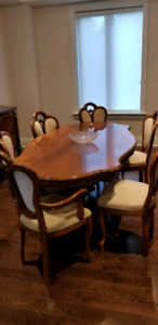 Solid wood 6ft Dining Room Table