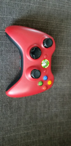 XBOX 360 Red controller.