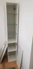 Free tall freestanding shelving unit from IKEA