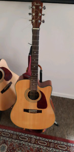 FENDER ACOUSTIC ELECTRIC **SOLD**