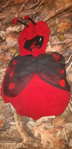 Little girls lady bug n boys monkey costume