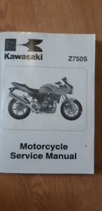 Kawasaki Z750S Motorcycle Service Manual