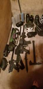 Paintball equipment for sale