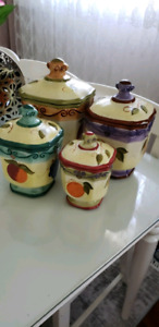 Kitchen Cannister 4pc.