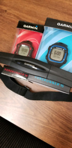 Garmin GPS Running Watch Forerunner 15 and 10 wHeart Rate USB