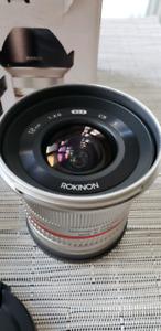 Sony E-mount 12mm f2 Ultra Wide Angle  Lens