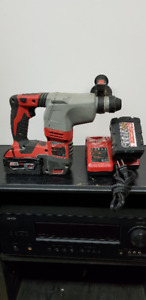 "Milwaukee - M18 Cordless Lithium-Ion 7/8"" SDS Plus Rotary Hammer"
