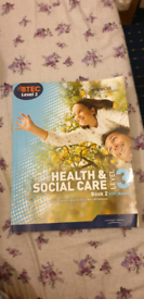 HEALTH AND SOCIAL CARE LEVEL 3 TEXTBOOKS