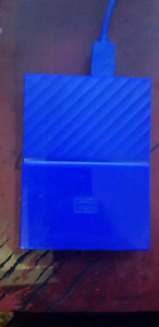 Western Digital 3TB My Passport  Portable External Hard Drive