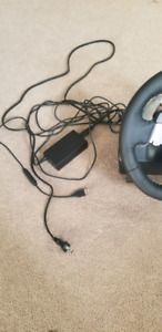 Logitech G920 wheel and pedals