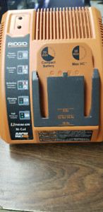 RIDGID LITHIUM ION AND NI- CAD  RAPID BATTERY CHARGER