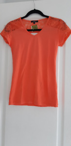 New With Tags Coral Top